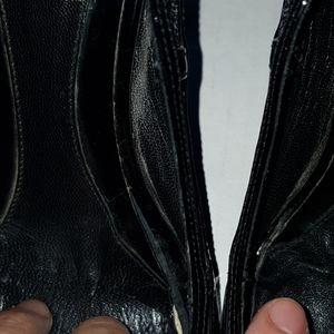 Fendi Shoes - Fendi open toe mesh heels.